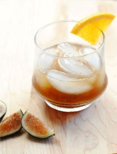 Fall Fig Cocktail: The Fig Old-Fashioned   The Kitchn