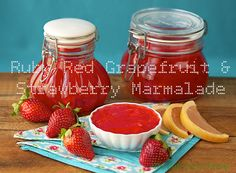 Ruby Red Grapefruit & Strawberry Marmalade | The Café Sucré Farine