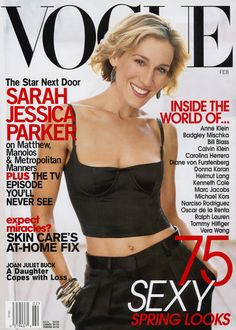 Sarah Jessica Parker in Vogue – Vogue