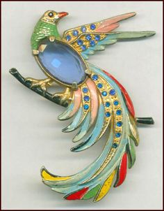 BIRD OF PARADISE PIN