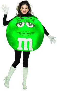 ms green mandm halloween costume