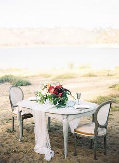 Romantic Swan Lake Wedding Inspiration