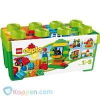 LEGO Duplo 10572 Alles-in-een doos groen -  Koppen.com