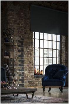 Industrial Loft apartment interior design. Classic chair  - Pinterest: Leumas                                                                                                                                                                                 More