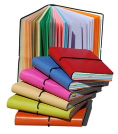colorful NOTEBOOKS - i LOVE notebooks