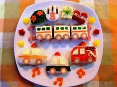 Birthday Menu, Birthday Plate, 2nd Birthday, Bento Kids, Cute Bento, Kids Menu, Baby Eating, Cute Food, Kid Friendly Meals