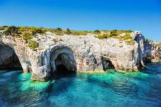Modra špilja (Blue cave on Bisevo island) in Biševo, Splitsko-Dalmatinska Županija