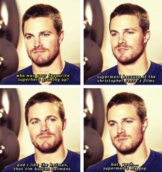 This is why I love Stephen Amell so much! <3
