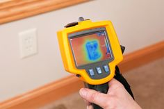 Improving insulation and blocking air gaps around electrical boxes can greatly reduce heat loss. Learn a few simple methods to seal up your old boxes. Home Improvement Loans, Home Improvement Projects, Thermal Imaging Camera, Matching Paint Colors, Drain Cleaner, Paint Stripes, Old Boxes, Green Building, Save Energy