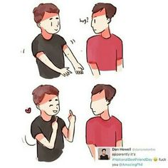 This is literally me and Mel ,I am dan and she's phil