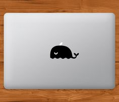 This decal transforms the illuminated logo on the back of your laptop into a cartoon whale and will catch everyones attention in the coffee shop,