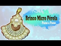 Passo a Passo #87: Brinco Micro Pérola - YouTube