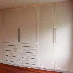 Home-Dzine - How to build and assemble built-in cupboards or wardrobes