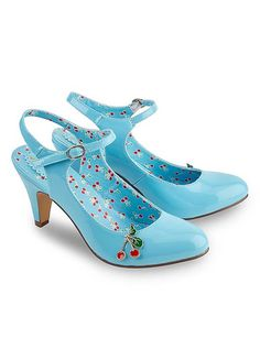 Joe Browns Cherry Baby Patent Shoes