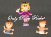 1994 Polly Pocket Babytime Fun
