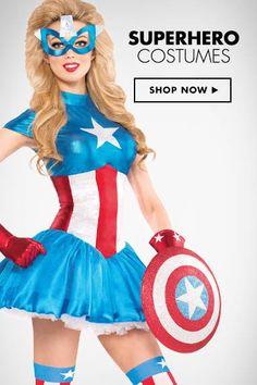 Women's Superhero Costumes