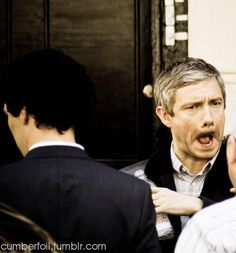 Martin Freeman everybody.