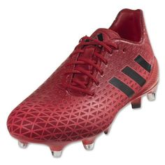 check out 252d2 660cc Adidas Crazyquick Malice SG Rugby Boots (Shock Red Core Black Power Red)