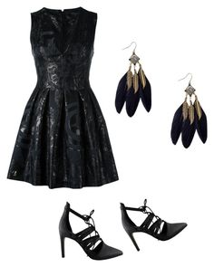 """""""Mila's party wear"""" by pantsulord on Polyvore featuring Philipp Plein and Iris"""