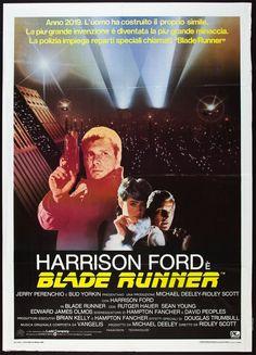 Blade Runner Italian movie poster