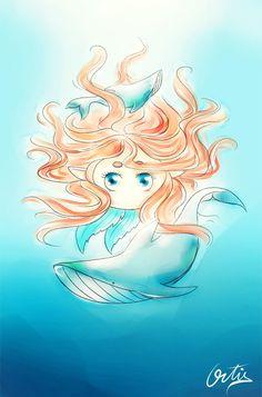 Thats a marmaid in Blablaland. Anime, Art, Gaming, Craft Art, Anime Shows, Kunst, Anime Music, Gcse Art, Anima And Animus