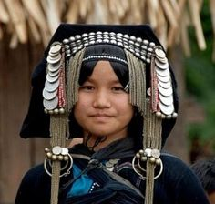 Northern Vietnam   Black Dao woman, Tam Duong   © Michel Renaudeau