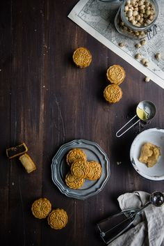 the coolest: homemade mooncakes | http://tworedbowls.com
