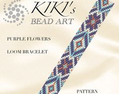 This is an own designed pattern in PDF format, downloadable directly from ETSY.  This pattern is for the Red mood and Intense mood LOOM bracelets , which are created using Japanese delica beads.  The pdf file includes: 1. a large picture of the pattern 2. a large, detailed graph of the pattern, 3. a bead legend with the colour numbers and count of the delica beads for the suggested length 4. a word chart of the pattern  for both bracelets.  Please note that my patterns do not include…
