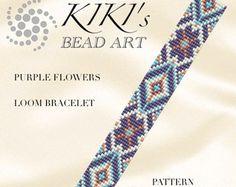 Grano telar patrón estrella de Lakota TELAR por KikisBeadArts