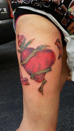 #Birds #Heart #tattoo #birdtattoo #heartattoo