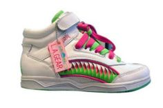 L.A. Gear sneakers. Loved my L.A. Gears... my sister and I had the same ones...pink and aqua.