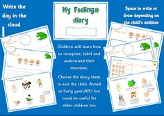 My Feelings diary -early years - Item 93 - Elsa Support