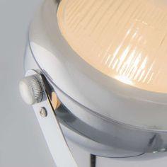 Lampa podłogowa Biker 1 chrom #stylskandynawski #nowoczesnelampy #lampyindustrialne