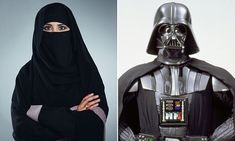 A Scout master from Bristol who compared a Muslim leader wearing a niqab, a veil covering the face, to Darth Vader has been forced to quit.