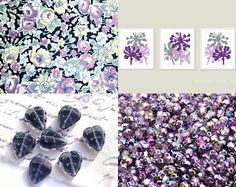 Violet Inspiration by Alice Abramovich on Etsy--Pinned with TreasuryPin.com