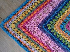 Week 9 made by Diane vd P Crochet Scarves, Crochet Shawl, Crochet Stitches, Crochet Baby, Knit Crochet, Crotchet Patterns, Granny Square Crochet Pattern, Prayer Shawl, Shawls And Wraps