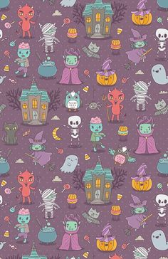 Looking for Halloween wallpapers to haunt your screens this end of October? Well, too bad because we only have adorable Halloween wallpapers to share with you this time. ...
