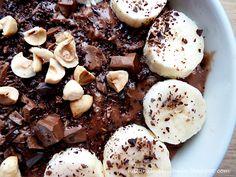 Naturalna kuchnia wegetariańska: Owsianka mocno czekoladowa