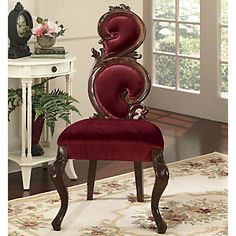 Royal Velvet High Back Chair from Midnight Velvet®