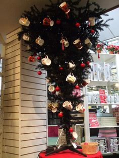 The upside down Christmas tree fad intrigues me