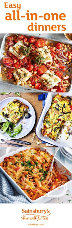 Say hello to the easiest dinner time ever, with our scrumptious traybake recipe meal plan. From classic tuna pasta bake to a magnificent mackerel and roasted vegetable frittata, these healthier recipes will take the hassle out of weeknight cooking.