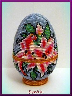 яйцо-шкатулка лилии