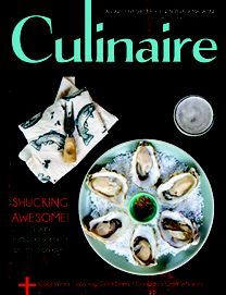 Culinaire (july:august Calgary's Freshest Food and Beverage Magazine Ocean Wise, Served Up, Calgary, Oysters, Free Food, Cooking Tips, Catering, Seafood, Beverages