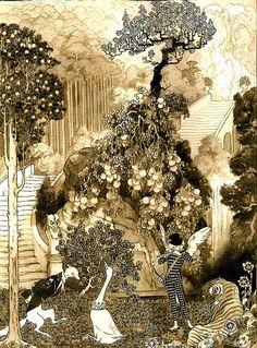 "Sidney Herbert Sime (1867-1941)  ""The Dollar Princess"""
