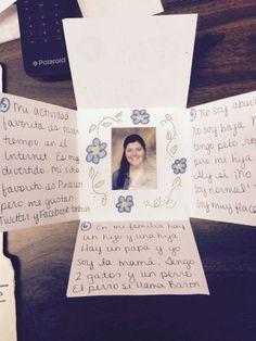Spanish 1 speaking final - nice idea to get them writing & speaking about themselves | Somewhere to Share