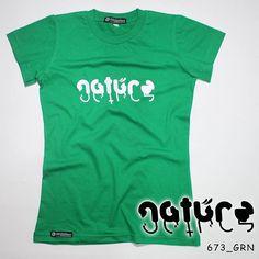 """N A T U R E"". Ladies Tees.  Polyflex White by @eiffashion | Code : 673_GRN | IDR. 85.000 | Only Size S | Order text to : 08195125968 / pin: 22F33330. E : silvas_clothing@yahoo.com  #silvasoriginals #eiffashion #tees #ladiesfashion #poliflex #kaos #tumblrtees #kaostumblr #apparel"