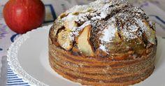 Le ricette di Claudia & Andre : Torta variegata con mele