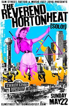 GigPosters.com - Reverend Horton Heat - Reverend Horton Heat, The
