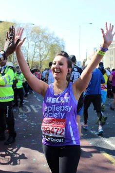 """I signed up for the London marathon and got a charity place in 2014. This time I wasn't just running for my own healing, I was running to raise money for Epilepsy Society, a charity close to the hearts of my family and myself."" Read Helen Gregory's emotional story of how running the #LondonMarathon helped her get back on her feet http://www.theguardian.com/lifeandstyle/the-running-blog/2015/jan/29/running-healing-emotional-scars-infertility"
