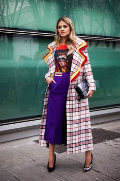The Best Street Style at European Fashion Weeks Fall/Winter 2018 - Winter Outfits Style Hipster, Hipster Fashion, Cool Street Fashion, Modest Fashion, Look Fashion, Fashion Outfits, Womens Fashion, Fashion Design, Cheap Fashion